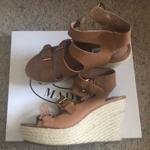 Shoes wedges by Steve Madden